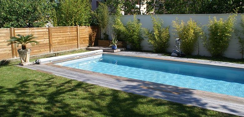Ozeobois piscine jardin