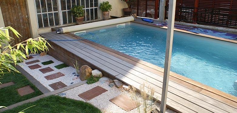 Aménagement piscine en bois