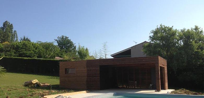 Ozeobois construit votre bureau de jardin en bois