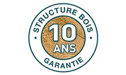 structure en bois garantie 10 ans