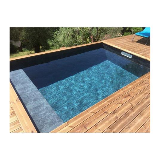 Banquette sous liner pour piscine