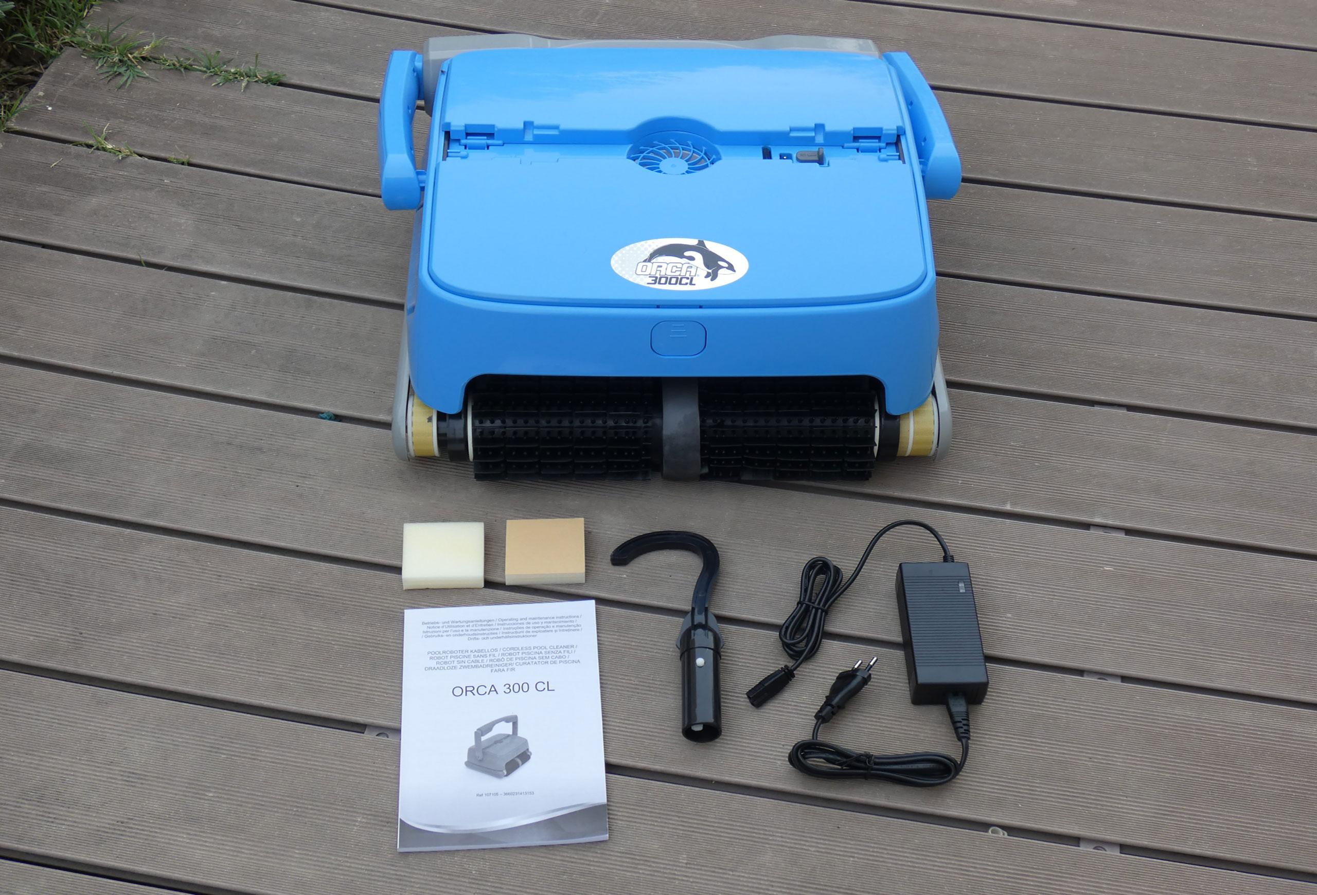 Robot sans fil orca 300 cl et équipement